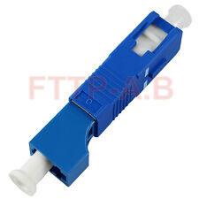 Single Mode(SM 9/125) LC Female to SC Male Fiber Optic Adapter LC-SC Connector