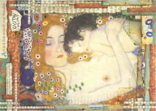 Rice Paper for Decoupage Scrapbook Craft Sheet - Klimt Mother and Child