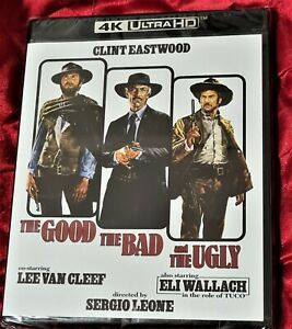 The Good, The Bad and The Ugly(4K Blu ray,2021),2 disc Set)NEW/SEALED rA