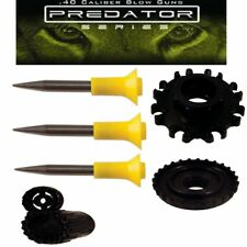 Predator 25 pack of .40 caliber Hunting Spikes with Dart Kit & Peep Sight