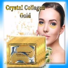 Luxury Crystal Collagen Gold Powder Eye Masks Soothes Dark Circles Anti Ageing