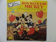 BO Emission TV Le Disney Channel Bon week end Mickey VS 655 F