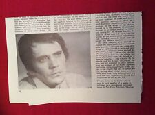 m12r ephemera 1969 film article review theorem terence stamp pasolini