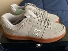 New! ~ Dc Shoes Men's Lynx Zero Low Top Sneaker Shoes Gray/White Size 11