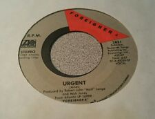 Foreigner – Urgent / Girl On The Moon