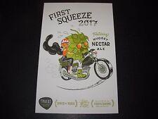 TROEGS Nugget Nectar First Squeeze 2017 Grace Hwang POSTCARD Print poster art