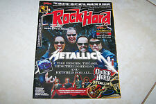 ROCK HARD MAG 7/2009 METALLICA MANOWAR + POSTER