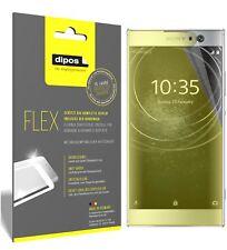 3x Sony Xperia XA2 Schutzfolie Folie, 100% Displayabdeckung, dipos Flex