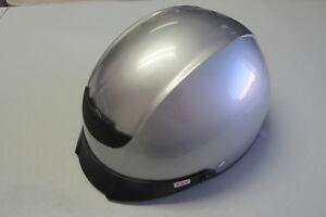 Z1R Vagrant Solid Half Helmet 0103-0617 Silver- Size XXS