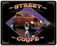 Hot Rod Coupe Speed Roadster Metal Sign Man Cave Garage Shop Club Grossman LG409