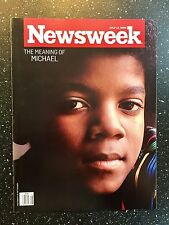 Michael Jackson - Newsweek Magazine - Collectors Item - Magazine Collection