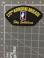 173rd Airborne Brigade Sky Soldiers Patch Infantry Combat Team Army Europe NATO