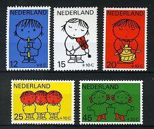 NEDERLAND 932/936 MNH** 1969 - Kinderzegels, Dick Bruna