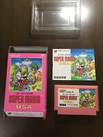 Game soft Famicom 『Super Mario USA』Box and with an instructions from Japan②