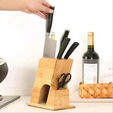 Kitchen Supplies Multi-purpose Moisture-proof Knife Storage Rack Bamboo Holder