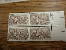 US Scott #1115, Plate Block #26105 1958 Lincoln-Douglas 4c MINT