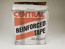 "10 Pack Uline S-5761 2.83"" x 450' Central Economy Kraft Sealing White Tape K5761"