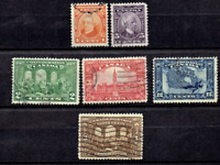 1927 Canada (BNA) Geo V COMPLETE SET TO 12c Sc#141-45 Used Incl High values