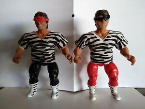 1986 AWA Remco Rockers Marty Jannetty & Shawn Michaels Wrestling Figures Mint!