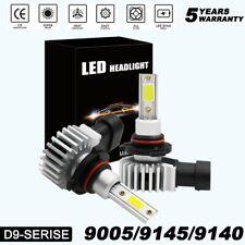 2X 9145 9140 H10 LED Fog Light Bulbs Kit For Ram 1500 2500 3500 Ford F-150 F-250