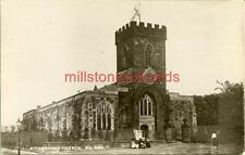 REAL PHOTO POSTCARD GUISBOROUGH CHURCH, NEAR REDCAR NORTH YORKSHIRE PHOENIX#2059