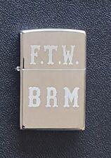 "Hells Angels Support Original 81 Zippo  ""FTW BRM"""