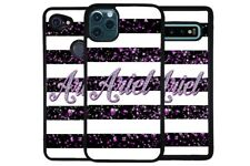 Silver Sparkly Bars Glamor Personalized Phone Case for Apple Samsung LG Google