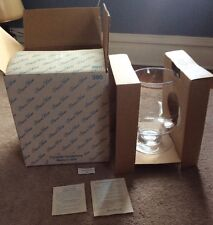 Princess House Heritage Handblown Footed Crystal Candle Lamp # 390 Mint