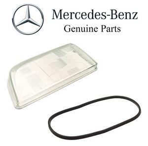 For Mercedes W140 S320 S350 S420 S500 Driver Left Headlight Lens Genuine