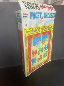 CEREAL TOY R&L 1975 WACKY WALKERS - CEREAL BOX BACK PANEL REPRODUCTION