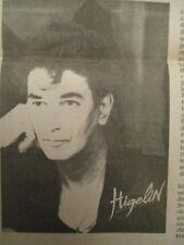 JACQUES HIGELIN TOMBE DU CIEL + BOWIE SE MARIE + REM + ROY ORBISON - 22/02/1989