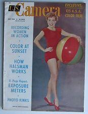 July 1953 U.S. Camera Magazine - Marilyn Monroe, Liz Taylor, Mickey Mantle, etc.