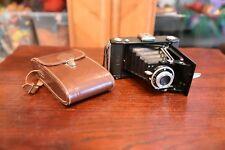 Zeiss Ikon Nettar 515/2 Rollfilmkamera mit Tasche