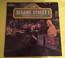 1974 Sesame Street 1 Original Cast Record Vinyl Record Lp Ctw 22064