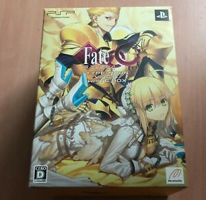 SONY PSP Fate / Extra CCC Type Moon Virgin White Limited Box