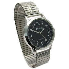 Ravel Men's Super-Clear Quartz Watch with Expanding Bracelet sil #33 R0230.03.1