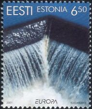 Estonia 2001 Europa/Water Resources/Environment/Conservation/Nature 1v (ee1134)