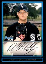 2009 Bowman Draft Picks & Prospects Chrome David Holmberg Chicago White Sox