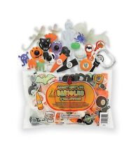 72 Halloween Party Favors Toys Piñata SpinTops,Bracelets,Clickers,Rings,Lizards