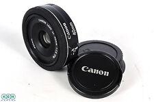 Canon 40mm F/2.8 STM Black Pancake EF Mount Lens