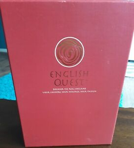 ENGLISH QUEST DISCOVER THE REAL ENGLAND HERITAGE BOARD GAME COMPLETE VGC