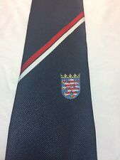 Vintage Alpi Mens Tie 3 X 55 Navy Blue Red White Stripe And Crest New