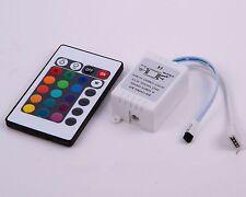 24 Keys IR Remote Control Controller for RGB LED Light Strip + 12V 2Amps Adaptor