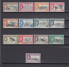 ASCENSION ISLAND 1956 SG 57/69 USED Cat £80