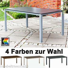 Kettler Gartentische 5 Farben 160 cm rechteckig Gartenmöbel Tische Dining-Tisch