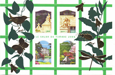 France Sheet 99 Mnh Gardens Gärten tuinen  Off. Price € 8.00 1297