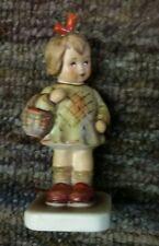 "Vintage Goebel Hummel Figurine ""I Brought You a Gift"" #479 Measures 4"" Tall"