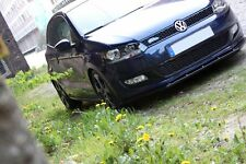 Spoilerlippe für VW Polo V 5 6R  Lippe Frontspoiler Spoiler Diffusor R GTI