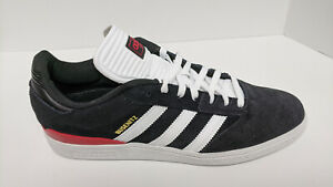 Adidas Busenitz Pro Skateboarding Sneakers, Black Suede, Men's 12 M