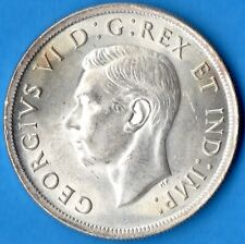 Canada 1939 $1 One Dollar Silver Coin - MS-63